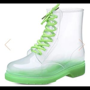 Firm 💵 Rock & Candy Jelly Boots size 39 US 8